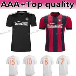 2019 a medida que el jersey MLS Atlanta United Soccer Jersey Hombres Team FC 24 GRESSEL 5 PIREZ 3 PARKHURST 16 McCANN 1 GUZAN Football Shirt Kits Make Custom rebajas a medida que el jersey