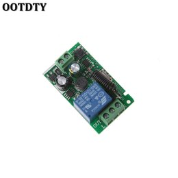 Wholesale 433mhz Remote Relay - OOTDTY AC 220V 1CH RF 433MHz Wireless Remote Control Switch Module Learning Code Relay