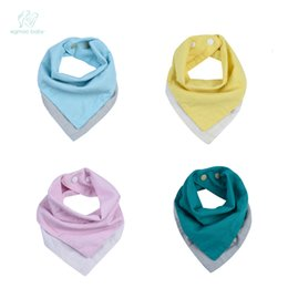 Wholesale Muslin Bibs - EGMAOBABY doghorn Baby Bandana Drool Bibs Super Absorbent Muslin & Cotton Baby Bibs for Drooling Teething and Feeding