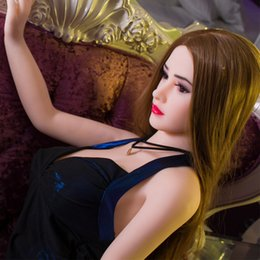 Wholesale life size female doll price - Shenzhen factory supply Top quality best price Asian face Long straight 1.4M 148cm big breast sex dolls