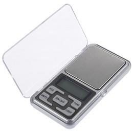 Canada 200g / 300g / 500g x 0.01g mini-échelle de poche pour les balances de bijoux en argent sterling or balance les balances électroniques de gramme Offre