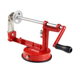 Máquina de torsión online-Ecológico 1 Pc Rotate Potato Machine Acero inoxidable Batatas Torcido Tornado Slicer Kitchen Hand Rotate Spiral Tool