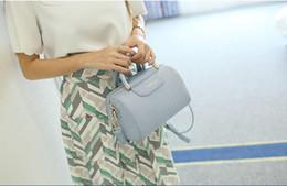 2019 quasten-eimer tasche blau New Style Damen American Zip Patent Leder Handtasche Kissen Polyester Alligator Schwarz Plain Pink Lavendel Farbe Boston Taschen