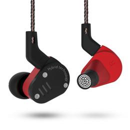 pilote de câble Promotion Nouveau KZ ZSA E HIFI Basse DJ Sport Écouteur In-Ear Dynamique Driver antibruit Casque Remplacement Câble ZA4 ES4