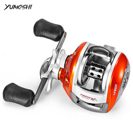 Wholesale Black Water Gear - YUMOSHI Baitcasting Reel 12+1BB Gear Ratio 6.3:1 Bait Casting Fishing Reel Right Left hand Magnetic brake Water Drop Wheel
