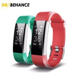ID115 HR Plus Smart Wristband Fitness APP GPS Activity Tracker Bluetooth Bracelet HR Sleep Monitor Smart Band BT Camera Music Remote Control Coupons