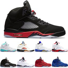 premium selection 52a72 a820e 2019 mens jordan s shoes Nike Air Jordan Retro Basketball Schuhe 5 5 s  Männer Frauen