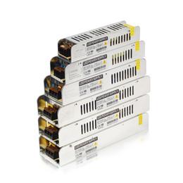 Wholesale Led Strip Lights Switch - 12V Illuminazione Trasformatore 5A-30A Switching Power Supply 60W 120W 150W 200W 250W 360W Adattatore LED Driver For LED Light Strip