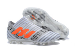 7ce855cd3 360Agility Soccer Cleats Nemeziz 17.1 FG Mens Soccer Shoes Cleats Boots  Football Shoes Cheap Low Top Football Boots Black Sneakers