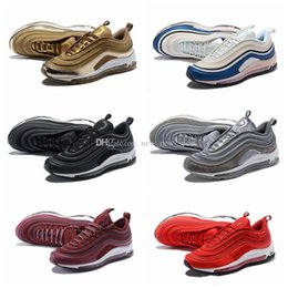 6322bbaa49d4 Chaussures 97 UL 17 Skepta London Bronze Gold Silver Bullet Running Shoes  for 97s Ultra Undefeated Brand Trainers Zapatos Size7-12 97 skepta on sale