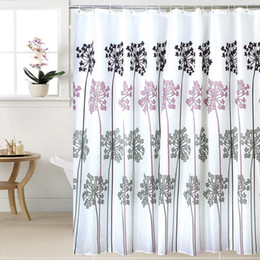Wholesale Bathroom Height - Fabric Polyester WIDEN Waterproof Thicken Shower Curtains Bathroom Curtains, 240cm (width) X180cm (height) with 16pcs C Rings.