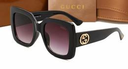 2019 óculos de sol neon g branda de alta qualidade clássico piloto óculos de sol designer de óculos de sol das mulheres dos homens óculos de ouro de metal lentes de vidro verde brown case