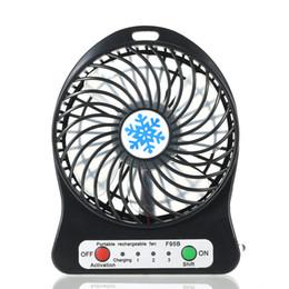 Portable LED rechargeable ventilateur mini bureau USB de charge de refroidissement de l'air 3 modes de régulation de la vitesse de la fonction d'éclairage LED de refroidissement ? partir de fabricateur