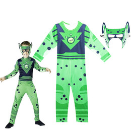 black music dress Promo Codes - Wild Kratts Costume Creature Power Suit Kids Hot selling Halloween Fancy Dress Wild Kratts cosplay costumes