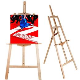 Напольные дисплеи онлайн-Прочный деревянный деревянный дисплей чертежа пола лиры стойки художника мольберта эскиза