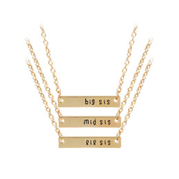 Sisters pendant necklace nz buy new sisters pendant necklace sisters pendant necklace nz whole salebest sister necklace set jewelry 3 pcs big middle little aloadofball Choice Image