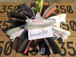 Wholesale Glitter Socks - With box socks Sply 350 v2 B37571 Blue Tint black red white zebra v2 boost 350 Kanye west Boost Running Men Women Sneaker Shoes Size 36-48