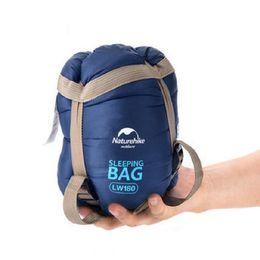 2019 konvexes kissen Hohe Qualität Mini Outdoor Ultraleichtumschlag Schlafsack Ultra-kleine Größe Für Camping Wandern Klettern Kostenloser Versand