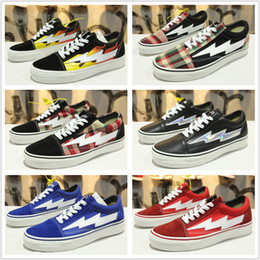 Wholesale White Board Rubber - New 10 Colors Revenge X Storm Old Skool Men Women Canvas Skate Board Shoes Low Cut Skateboard Top Quatily Casual Shoe Sports Sneakers