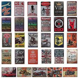 cartelli stradali all'ingrosso 66 Sconti Champion Shell Motor Oil Garage Route 66 Retro Vintage TIN SIGN Old Metal Metal Painting ART Bar, Man Cave, Pub, ristorante decorazione della casa
