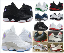meet 1659d 80bca 13s Menwomen Basketballschuhe 3M GS Hyper Royal Italien Blau Bordeaux  Flints Chicago Bred DMP Wheat Olive Ivory Black Cat Sportschuhe rabatt  königliches ...
