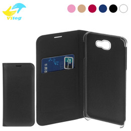 Wholesale Galaxy Pocket Covers - 2018 New For Samsung Galaxy S7 S8 Edge Plus note8 Flip Cover Genuine Samsung Galaxy S7 Edge Black Leather Flip Case Cover Wallet Card Holder