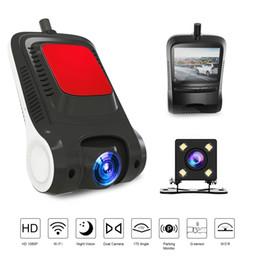 2019 скрытые камеры записи 1080P вождение видеорегистратор камера ночного видения автомобильный видеорегистратор HD DVR Dash Cam WiFi регистратор видеорегистратор авто камера Dashcam