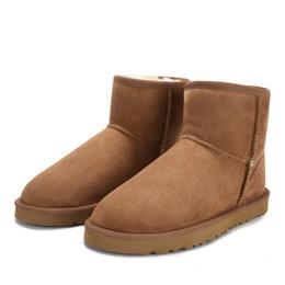 2018 Wgg Bottes De Neige Ug Australia Classique En Cuir Véritable Hiver Bottes Pour Femme mini-slip sur la cheville botas femme taille 5-10 ? partir de fabricateur