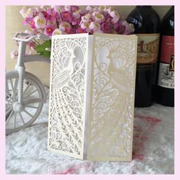25pcs creuse phoenix conception invitation de mariage laser invitations de mariage de luxe carte dentelle élégante faveurs de fête ? partir de fabricateur