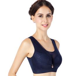 Push up bra 38 online-C D Copa Mujeres Chaleco Sujetador Cómodo Ropa de uso diario Empuja hacia arriba el sujetador 38 40 42 44 46