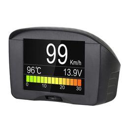 диагностический инструмент многофункциональный автомобиль OBD Smart цифровой метр сигнализации код неисправности датчик температуры воды напряжение скорость метр дисплей от Поставщики xp работает