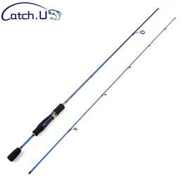 2019 5g señuelo Barato UL Spinning Rod 1.5-5g Lure Weight 3-7lb Line Ultralight Carbon Lure Fishing Rod 5g señuelo baratos