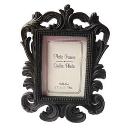 Wholesale Vintage Picture Frames Wholesale - High Quality Vintage Decorative Flower Photo Frame Wedding Home Decor Desktop Picture Frame