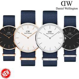 Wholesale womens watch bronze - 2018 New Mens Womens Daniel watches 40mm Men watches 36 Women Watches Luxury Brand Famous Quartz Watch Female Clock Relogio Montre Femme