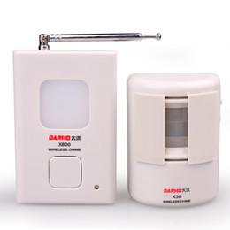 transmisor receptor sensor Rebajas Infrarrojo inalámbrico Sensor de movimiento Detector Calzada Sistema de alarma de seguridad para el hogar Timbre inalámbrico con receptor transmisor