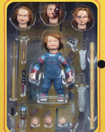 "NECA Childs Play Good Guys Ultimate Chucky Acción de PVC Figura de colección Modelo Toy 4 ""10 cm desde fabricantes"
