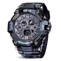 Cadeaux de mode SBAO Watch LED Hommes Montre de sport étanche Montre numérique à quartz choc électronique ? partir de fabricateur