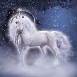 toile de fond la photographie de fête Promotion Laeacco Rêveuse Unicorn Party Stars Lumière Bokeh Bébé Photographie Arrière-plans Décors Photographiques Personnalisés Pour Photo Studio