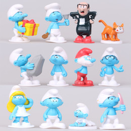 Figura para bolos on-line-12 pc / set 3-6 cm dos desenhos animados les schtro elf boneca figuras bonito kawaii brinquedos anime figuras de ação do bolo topper decoração de mesa de escritório decoração t26