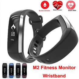 Wholesale Oximeter Ratings - M2 Smart Wrist Band R5 PRO Heart rate Blood Pressure Oxygen Oximeter Sport Bracelet Watch intelligent For iOS Android