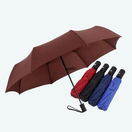 Gentles Bayanlar Tam otomatik Alüminyum Alaşım Fiberglas Güçlü Çerçeve Üç Katlanır Kompakt Büyük Yağmur Şemsiye Ücretsiz Kargo ZA5798 nereden