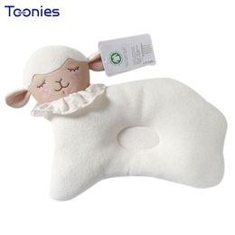 Wholesale Head Brand Baby - 2018 Brand New Lovely Lamb Cartoon Baby Pillow Infant Newborn Sleep Positioner Prevent Flat Head Shape Support Sleeping Care