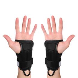 Wholesale Glove Guard - Outdoor Sports Gloves Skiing Skating Skateboard Snowboard Gear Hand Protectors Gloves Armguard Palm Wrist Guard