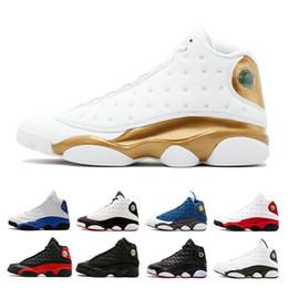Wholesale italy designer shoes - Designer 13 men basketball shoes white Black Cat Bred Italy Blue Hyper Royal Altitude Love Respect Grey Toe olive mens sports shoes sneaker