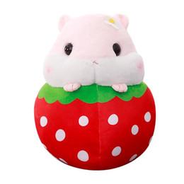 2019 фрукты с начинкой shaunyging # 4026 Симпатичные плюшевые игрушки хомяка плюшевые игрушки хомяка Kawaii игрушка для снятия стресса дешево фрукты с начинкой