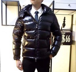 2019 casaco de pêlo duplo branco mens França Clássico da marca Das Mulheres Dos Homens Casuais Para Baixo Casaco mayaDown Casacos de Inverno Dos Homens Ao Ar Livre Quente homem Vestido de penas Casaco jaquetas outwear