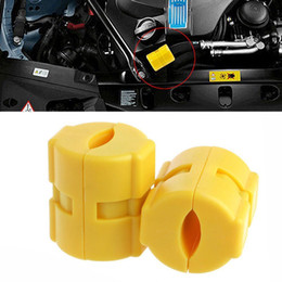 Wholesale fuel saver cars - 2Pcs Delivery Vehicle Magnetic Car Fuel Saver Saving Gas Device Economizer Reduce Emission Economizer Magnetic Saving Gas Device BBA249