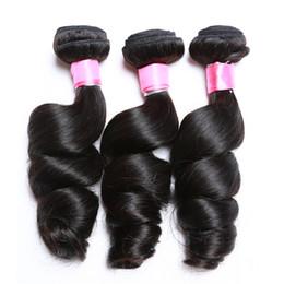 Perstar Saç Perulu Gevşek Dalga 3 Paketler Mevcut% 100% İnsan Saç Uzatma Saç Örgü Demetleri Remy supplier loose weave human hair extensions nereden gevşek dokuma insan saç uzantıları tedarikçiler
