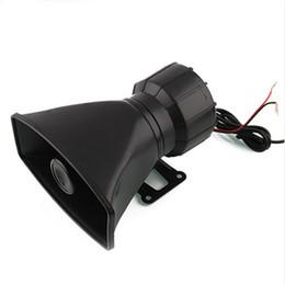 Wholesale alarm horn speaker - Hot Sale DC12V 100W 5 Sound Tone Wehicle Car Motor Motorcycle Van Truck Siren Loud Horn Auto Speaker Alarm Accesrrory