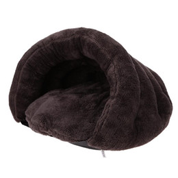 Wholesale Waterproof Dog Houses - China house Suppliers Puppy Pet Bed Warming Dog House Soft Winter Warm Nest Kennel Cat Pet Beds Warm Cushion